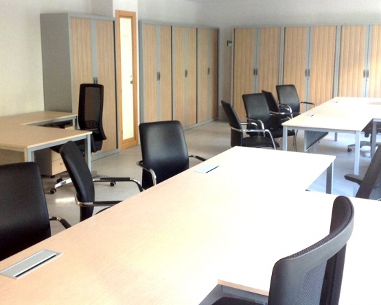 mesas y sillas oficina
