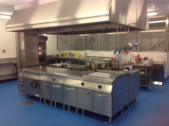 Equipamiento cocina industrial