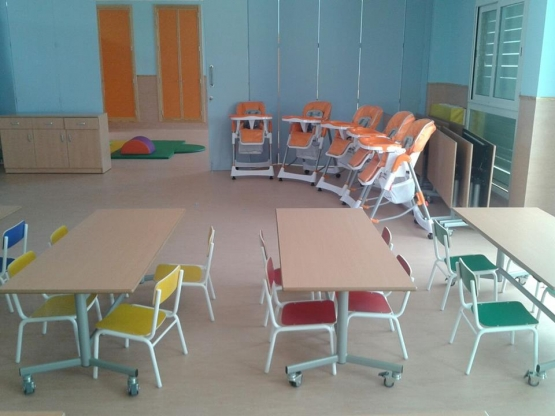 equipamiento escuela infantil