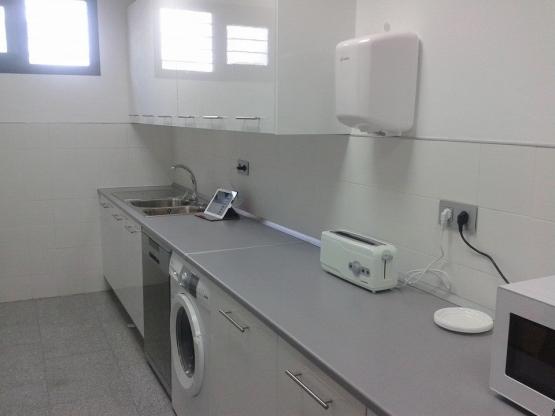 equipamiento cocina escuela infantil