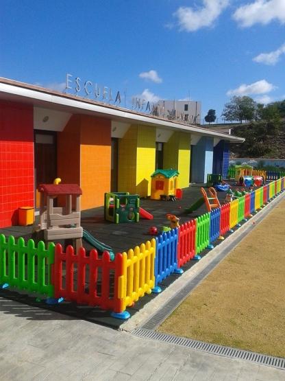 equipamiento parque infantil