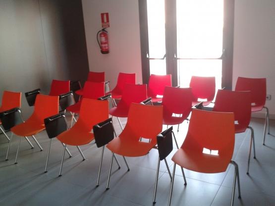 sillas aula formación