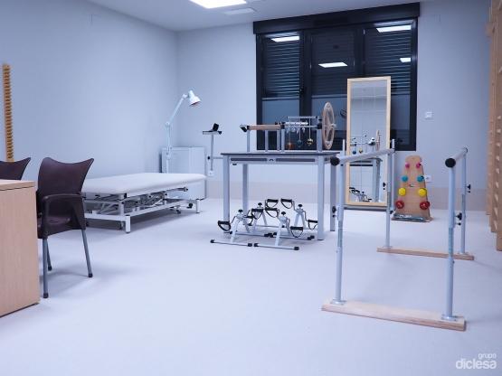 Fisioterapia residencia tercera edad