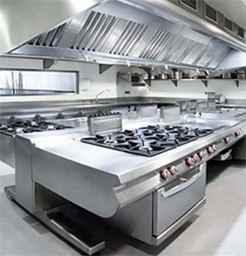 Cuinox Industrial Kitchen Projects